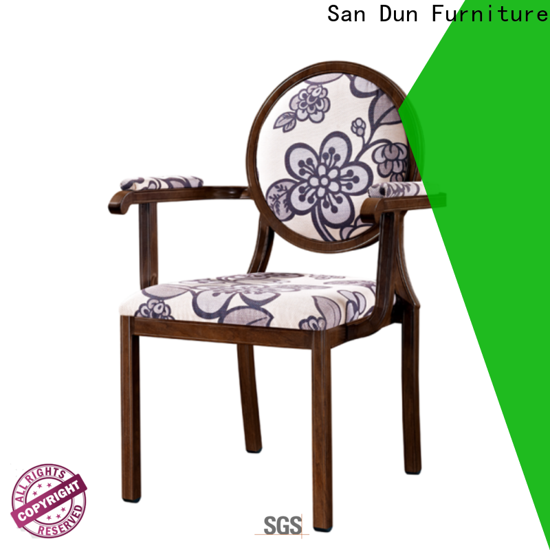 San Dun aluminum dining chairs inquire now for coffee shop