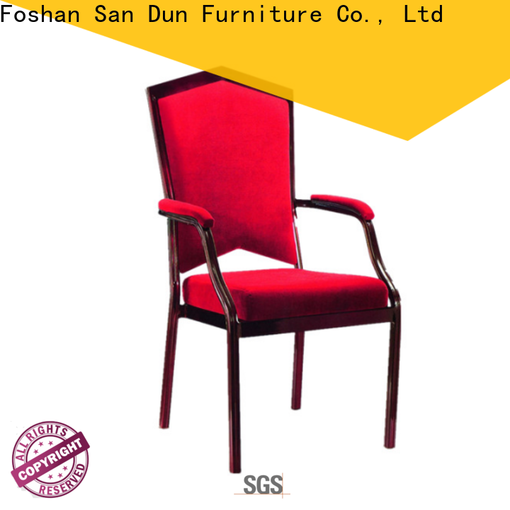 San Dun aluminum banquet chairs from China for hotel banquet