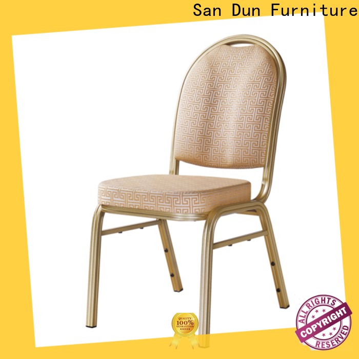 San Dun aluminum desk chair directly sale for coffee shop