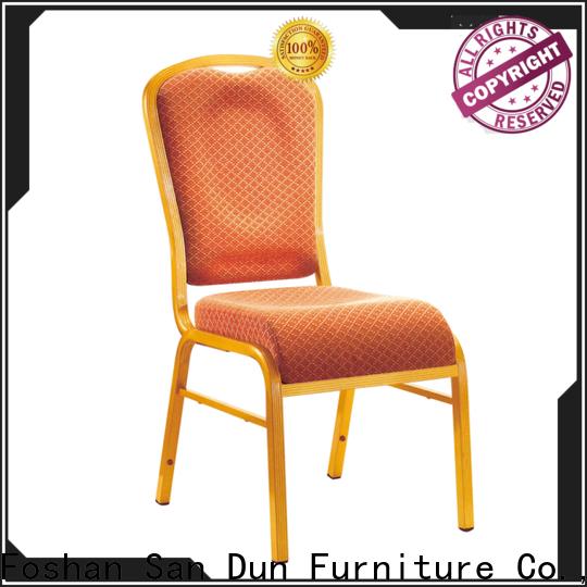 San Dun cast aluminum chairs factory direct supply bulk production
