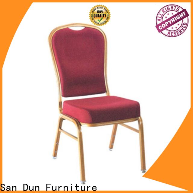 San Dun worldwide cheap aluminium chairs with good price for sale