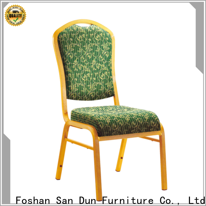 San Dun new aluminium dining chairs manufacturer for sale
