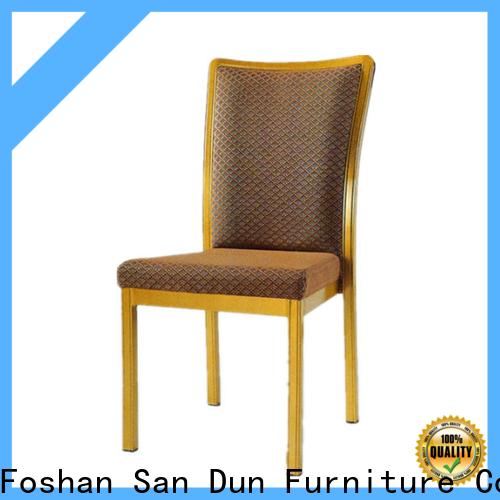 San Dun aluminium cafe chairs factory for coffee shop