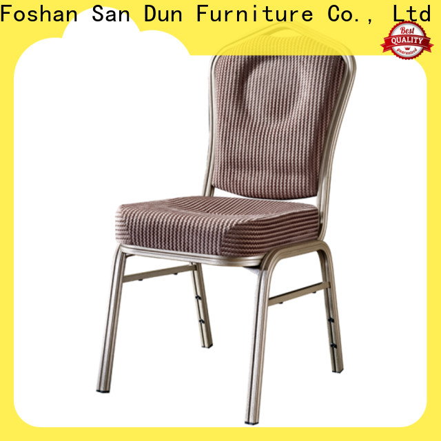 promotional aluminium kitchen chairs manufacturer for party hall