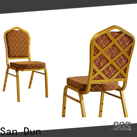 San Dun aluminium dining chairs supplier for conference