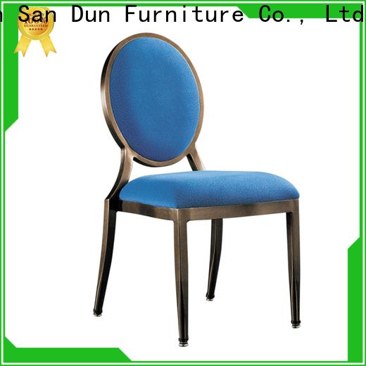 San Dun cheap aluminium chairs supplier for sale