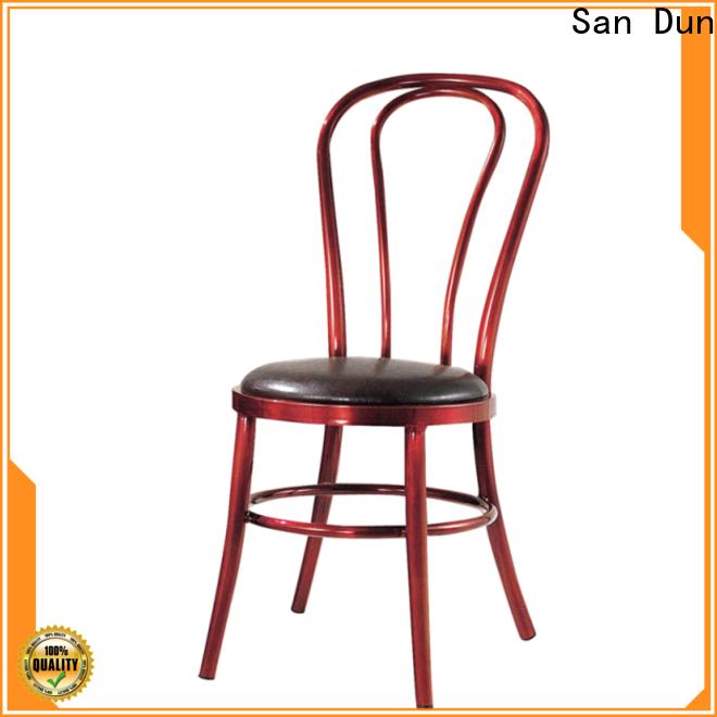 San Dun elegant cast aluminum chairs series for meeting
