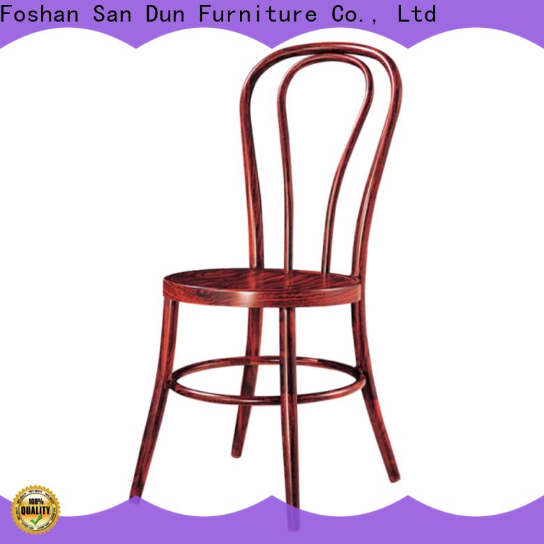 San Dun worldwide cheap aluminium chairs wholesale for hotel banquet