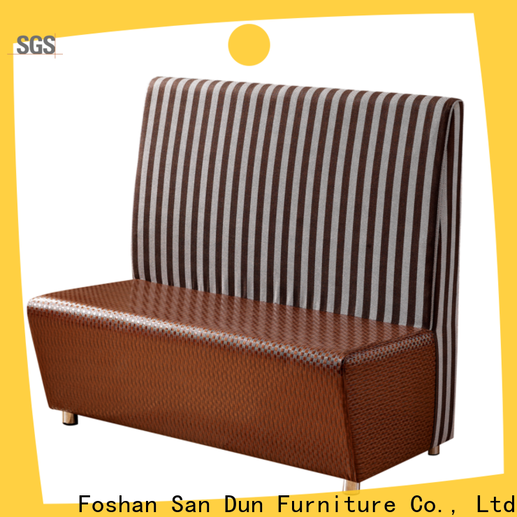 San Dun low-cost cafeteria sofa best supplier for cafe