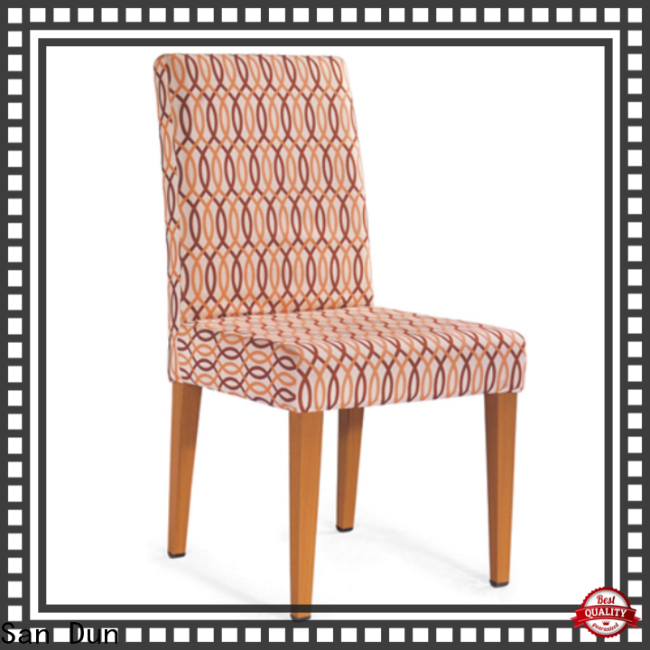 San Dun wooden chairs with padded seats manufacturer for promotion