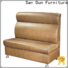 San Dun high quality cafe couch manufacturer for club