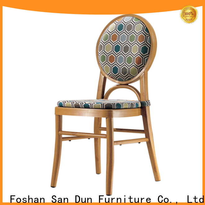 best aluminum kitchen chairs wholesale for coffee shop