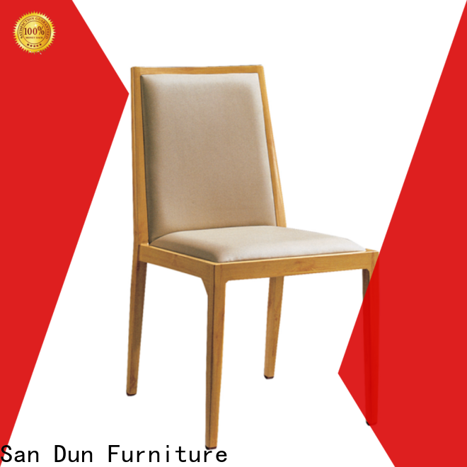 San Dun stackable aluminum patio chairs best supplier bulk buy