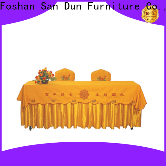 new dining table cover cloth wholesale for banquet