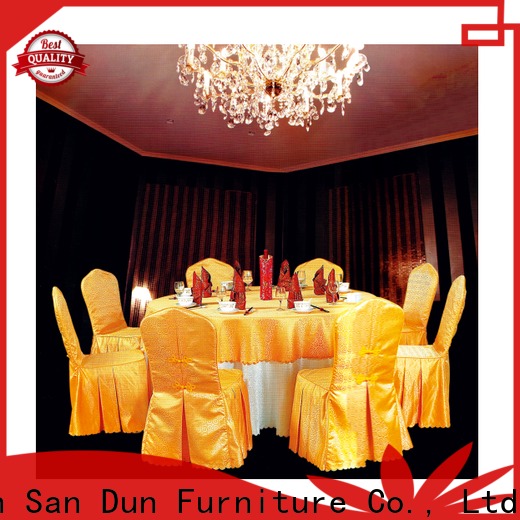 San Dun party table linens company for hotel