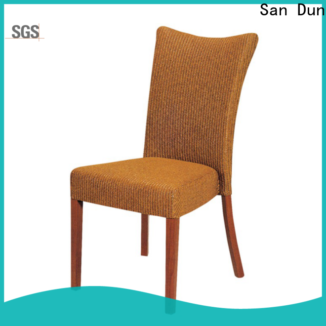 San Dun excellent wooden dining room chairs with good price for promotion