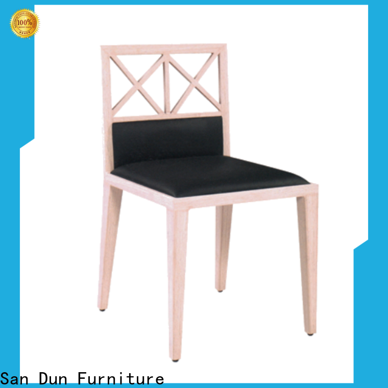 quality padded wooden chair supplier for restaurant