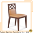 San Dun popular wood chair styles supplier for restaurant