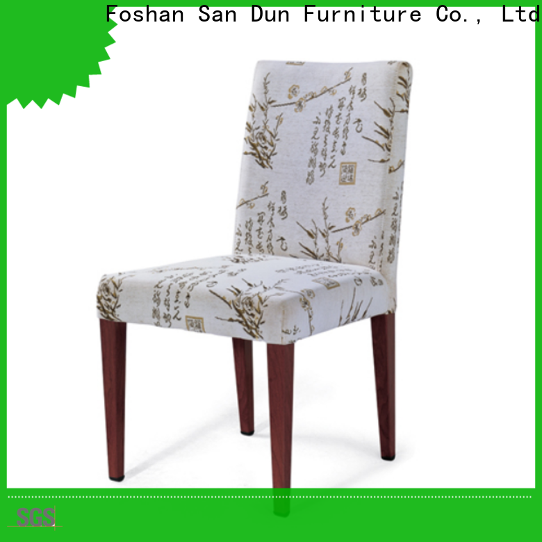 San Dun stable wooden chairs for sale from China for wedding