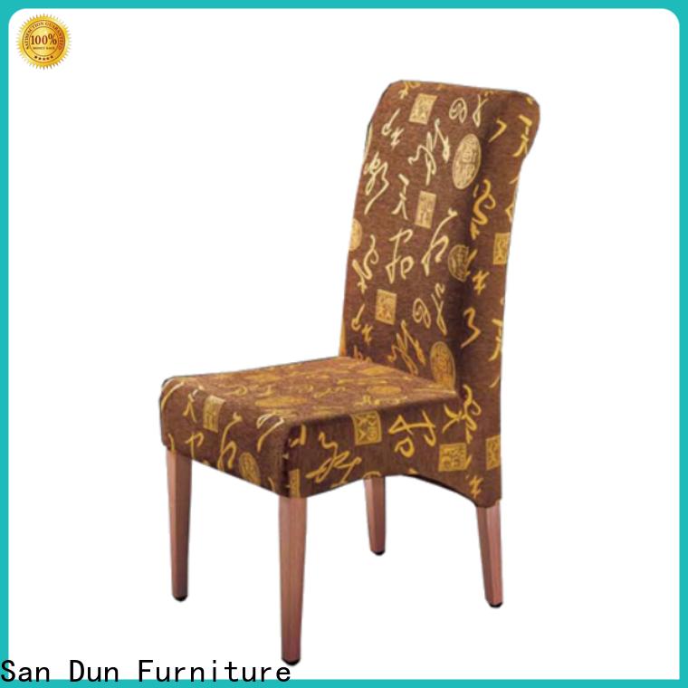 San Dun popular wood side chair best manufacturer for restaurant