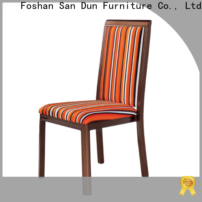 San Dun best decorative wooden chair supply for hotel