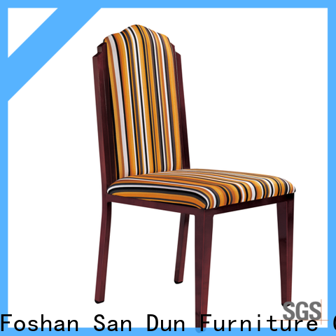 San Dun wooden chair upholstered seat manufacturer for promotion