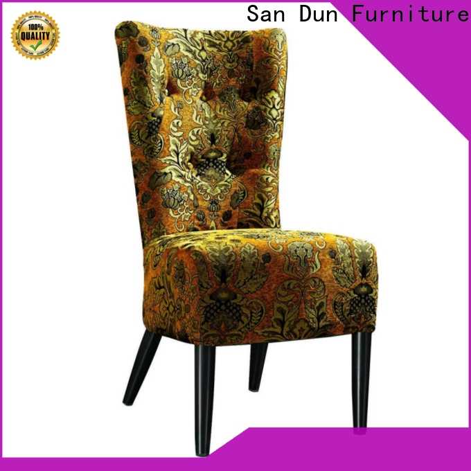 San Dun wooden chair modern manufacturer for promotion