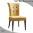 San Dun popular wooden chair with fabric seat supply for sale