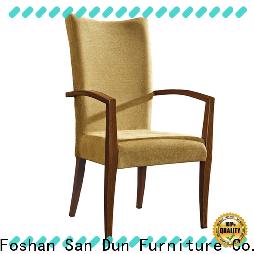 top wood upholstered dining chairs company for party