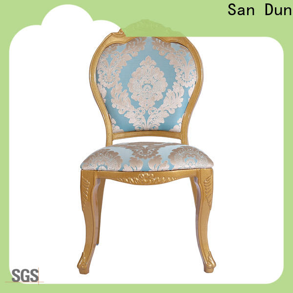 San Dun factory price stackable aluminum chairs with good price for coffee shop