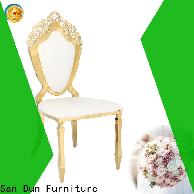 San Dun durable dining chairs with stainless steel legs inquire now bulk production