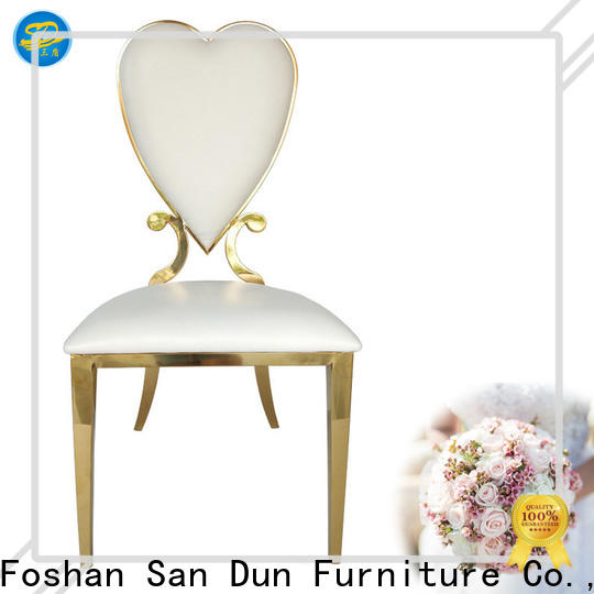 San Dun new modern stainless steel chairs best manufacturer for promotion