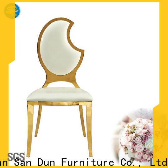 San Dun low-cost stacking chairs suppliers for restaurant