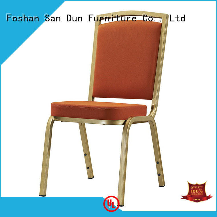 design black classic fabric San Dun Brand aluminium chair supplier