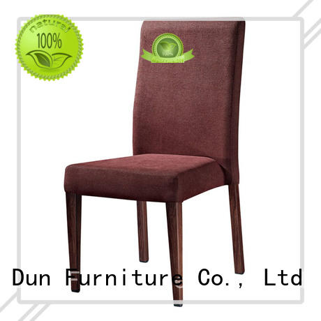 HARMONIOUS COLOR FABRIC DINING ROOM IMITATION WOODEN CHAIR #YA-016