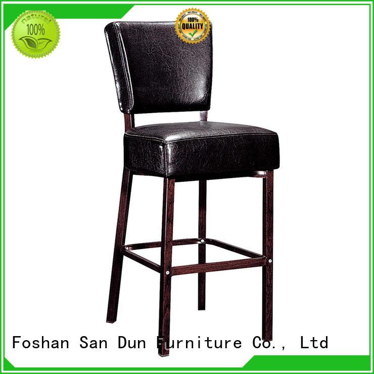 San Dun graceful colorful bar stools with backs ya063 bar