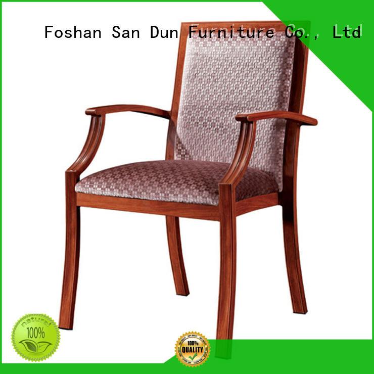 shape wooden chair with cushion antidirty wedding San Dun