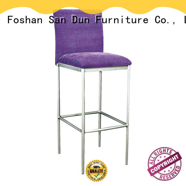 ya064 contemporary bar stools leather lobby San Dun