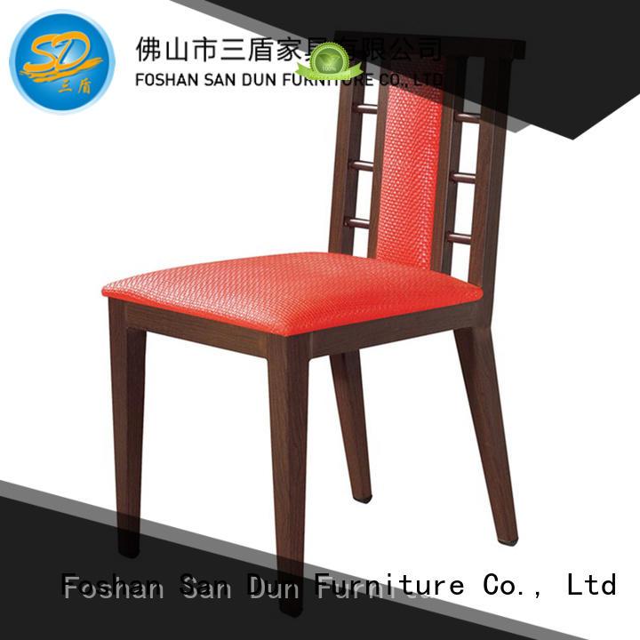 San Dun fabric light wood dining chairs ya1005 party