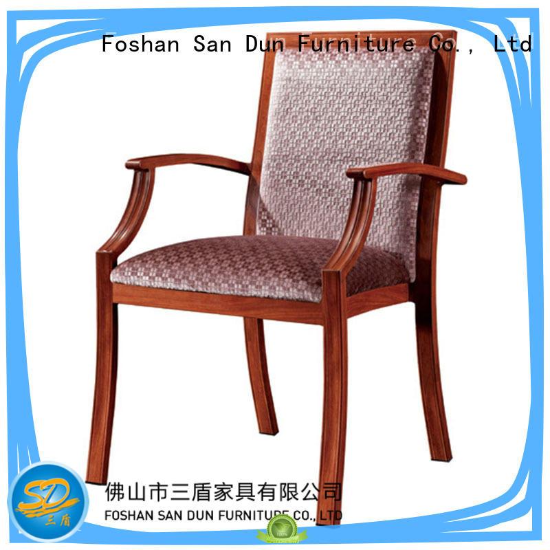 Hot wooden dining chairs harmonious San Dun Brand