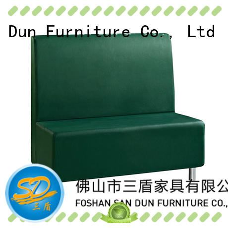 PU LEATHER RESTAURANT SINGLE SOFA K#002