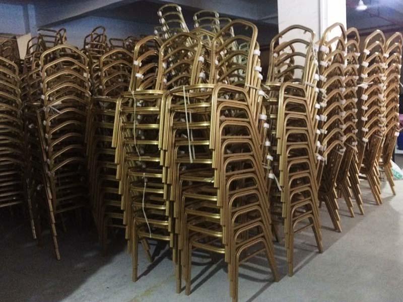 painting Custom fabric wooden dining chairs dining San Dun