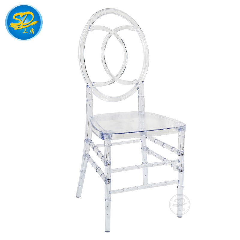 STACKING ACRYLIC CHAIR HOTEL EVENT PARTY BANQUET RESIN CHAIR
