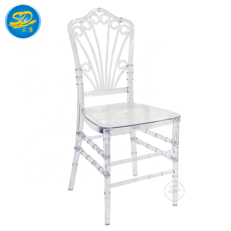 2021 HOT SALE WEDDING RESIN CHAIR CLEAR BANQUET PLASTIC CHAIR ACRYLIC EVENT CHAIR