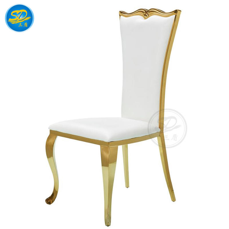 KING AND QUEEN WEDDING CHAIR STAINLESS STEEL CHAIR YS-019