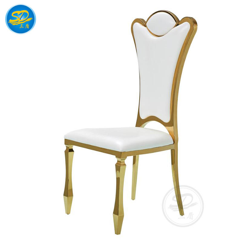 PARTY RENTAL STAINLESS STEEL STACKING CHAIR YS-021