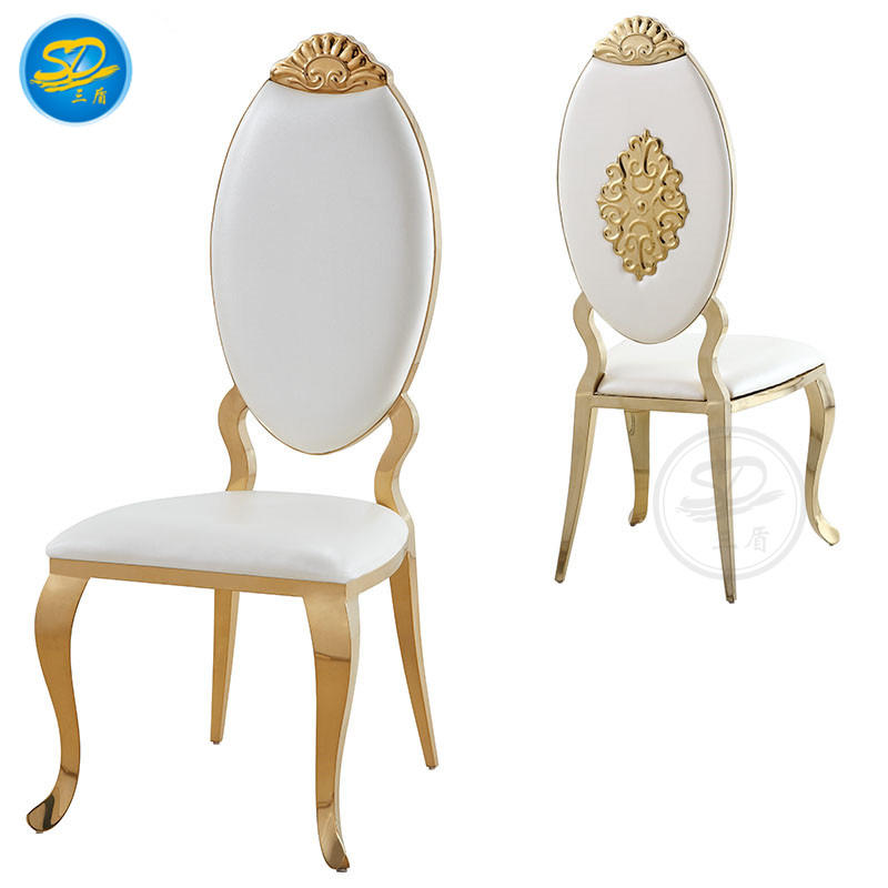 STAINLESS STEEL BANQUET WEDDING CHAIR YS-001