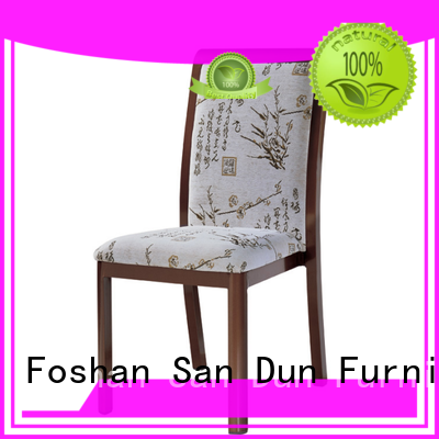San Dun velvet wooden dinner chairs ya1005 for party