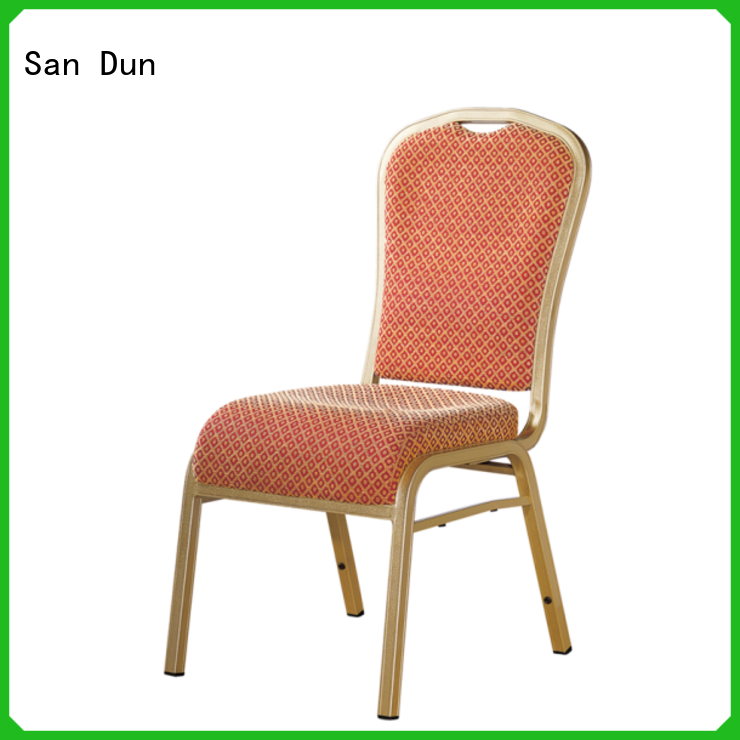 San Dun stackable aluminum chairs inquire now for party hall