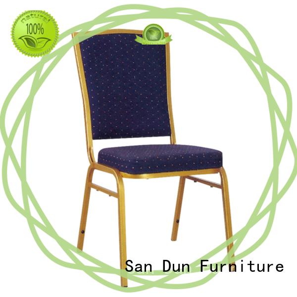 San Dun brushed steel dining chairs best supplier for church